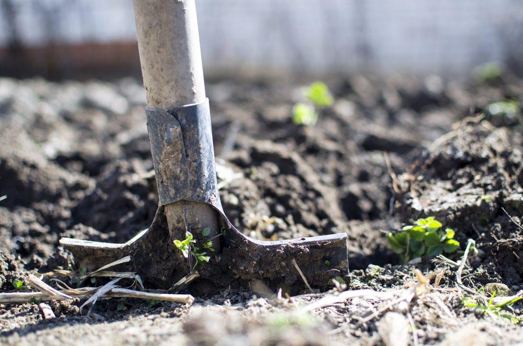 Enterrer - creuser un trou